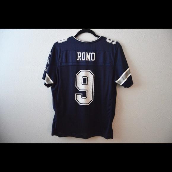 new arrival 0d8ad b6a26 Tony Romo , Dallas Cowboys official reebok jersey
